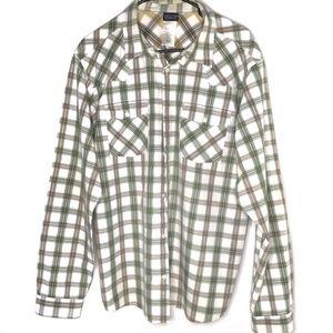 Patagonia Men's Long Sleeve Plaid Shirt Sz Large